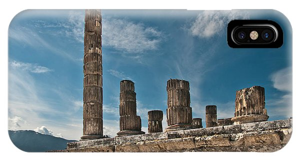 Temple Of Jupiter IPhone Case