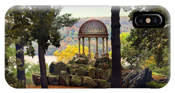 Temple Of Love In Autumn IPhone Case
