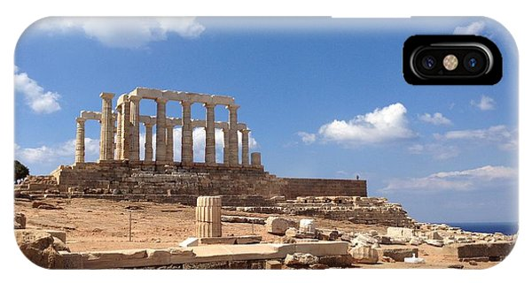 Temple Of Poseidon IPhone Case