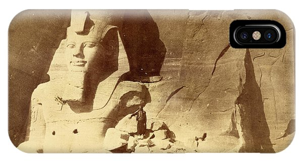 Temple Of Ramses II IPhone Case