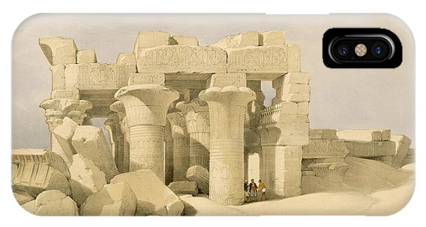 Temple Of Sobek And Haroeris At Kom Ombo IPhone Case