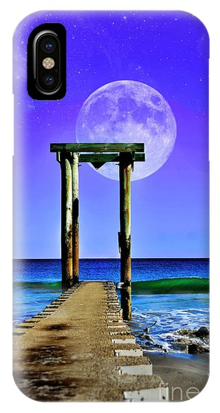 Temple Of The Atlantic IPhone Case