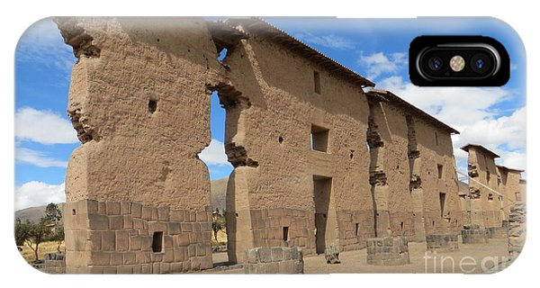 Temple Of Wiracocha IPhone Case