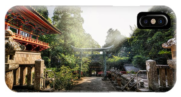 Temple Pathway IPhone Case