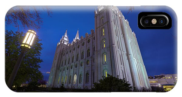 Temple iPhone Case - Temple Perspective by Chad Dutson