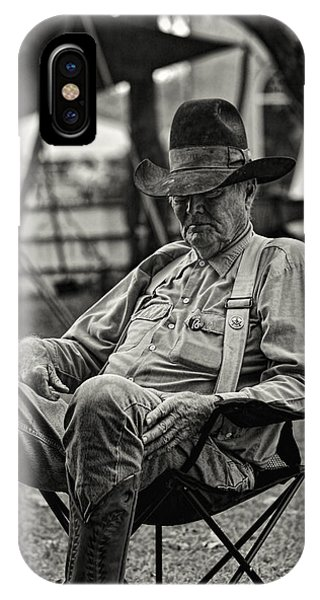 Cowboy And The Ten Gallon Hat IPhone Case