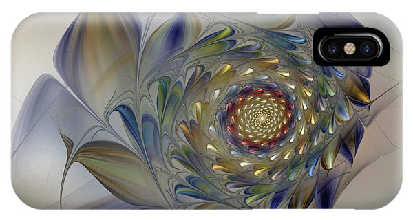 Tender Flowers Dream-fractal Art IPhone Case