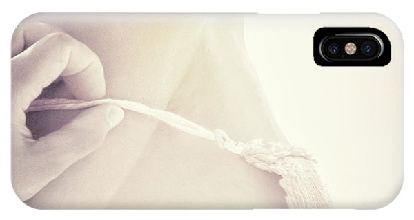 Hand iPhone Case - Tender Moments by Piet Flour