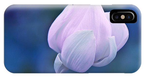 Tender Morning With Lotus IPhone Case