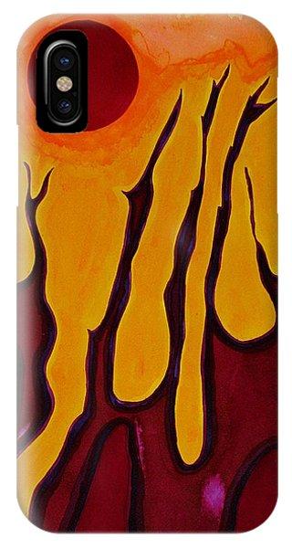 Tendrils Original Painting IPhone Case
