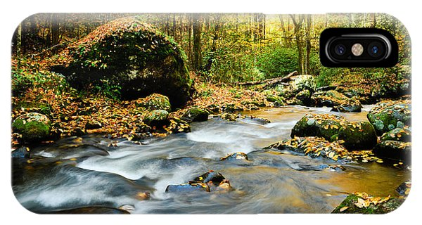 Tennessee Stream In Fall IPhone Case