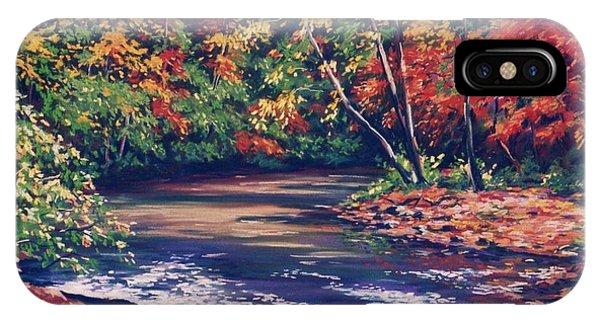 Tennessee Stream In The Fall IPhone Case