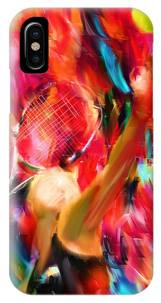 Tennis I IPhone Case