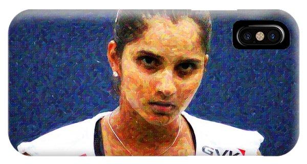 Tennis Player Sania Mirza IPhone Case
