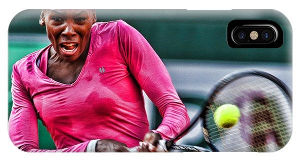 Venus Williams iPhone Case - Tennis Star Venus Williams by Srdjan Petrovic