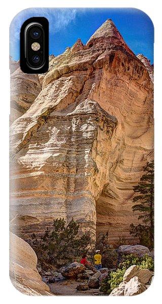 Tent Rocks No. 2 IPhone Case