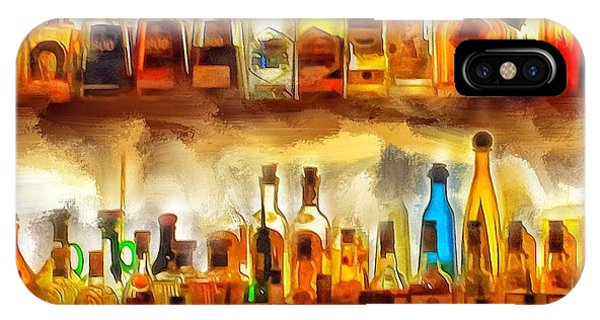 Ok iPhone Case - Tequila Bar At Aquila Restayrant by Yury Malkov