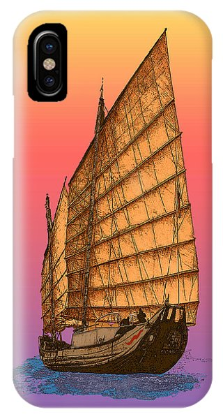 Tequila Sunrise Junk IPhone Case