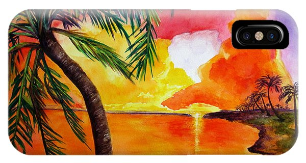 Tequila Sunset IPhone Case