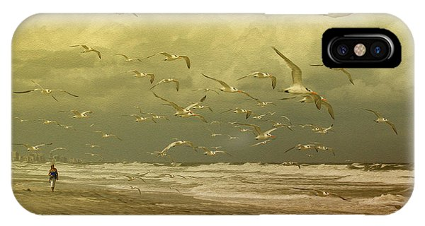 Terns In The Clouds IPhone Case