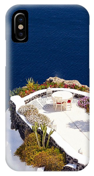Terrace Garden On The Cliff IPhone Case