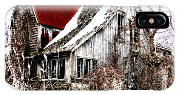 Terrance Laird Farm House Thedford IPhone Case