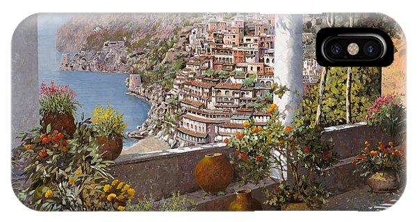 Coast iPhone Case - terrazza a Positano by Guido Borelli