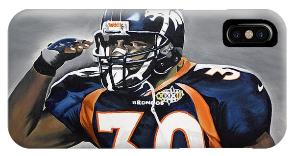 Terrell Davis  IPhone Case