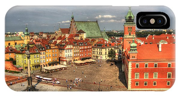 Terrific Warsaw - The Castle And Old Town View IPhone Case