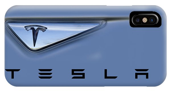 Tesla Model S IPhone Case