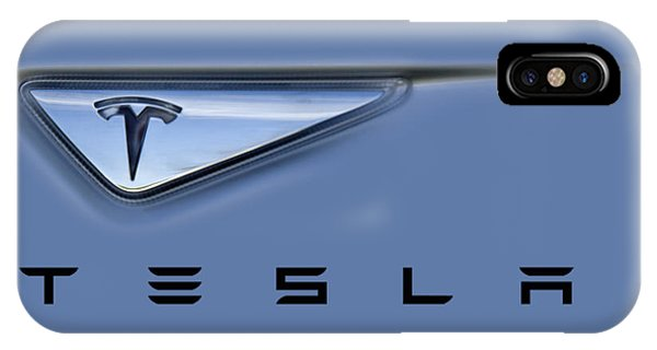 IPhone Case featuring the photograph Tesla Artwork by David Millenheft