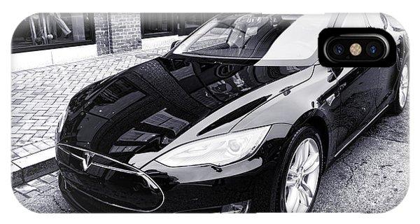 Tesla Model S IPhone Case
