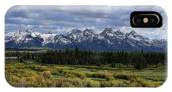 Teton Panorama IPhone Case