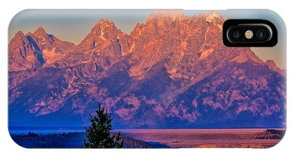 Teton Peaks IPhone Case
