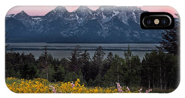 Teton iPhone Case - Teton Spring by Leland D Howard