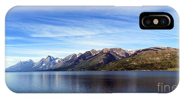 Tetons By The Lake IPhone Case