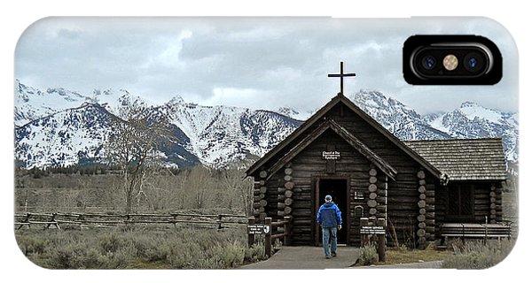 Tetons Chapel Of The Transfiguration IPhone Case