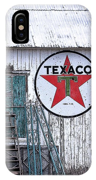 Texaco Times Past IPhone Case