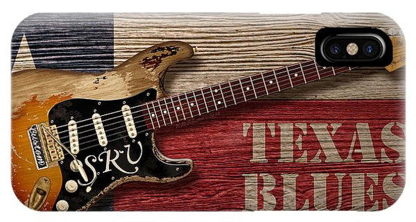 Electric Guitar iPhone Case - Texas Blues by WB Johnston