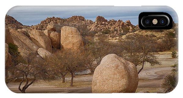 Texas Canyon In Arizona IPhone Case
