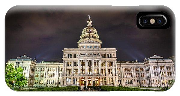 Texas Capitol Building IPhone Case