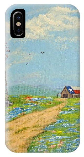 Texas High Sky IPhone Case