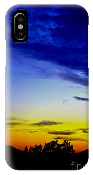 Texas Hill Country Sunset IPhone Case