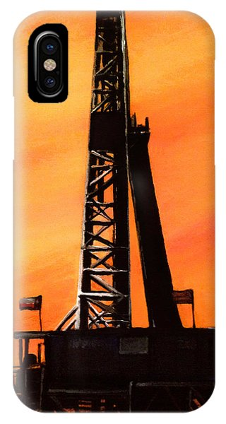 Texas Oil Rig IPhone Case
