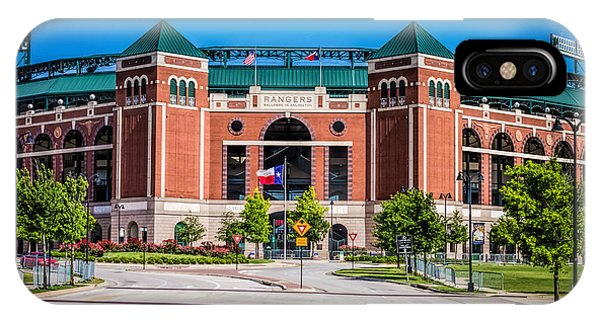 Globe Life Park In Arlington IPhone Case