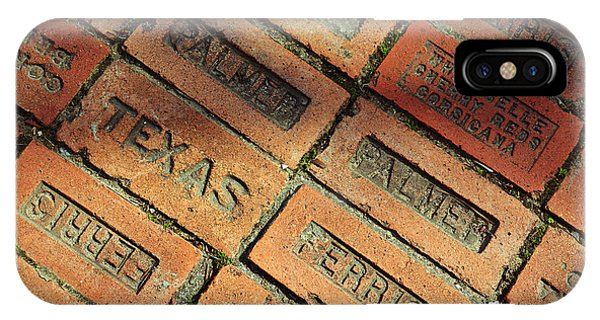 Texas Red Brick IPhone Case