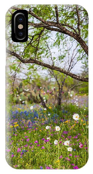 Texas Roadside Wildflowers 732 IPhone Case