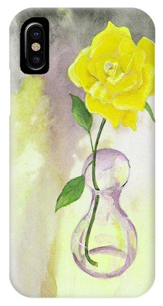 Texas Rose IPhone Case