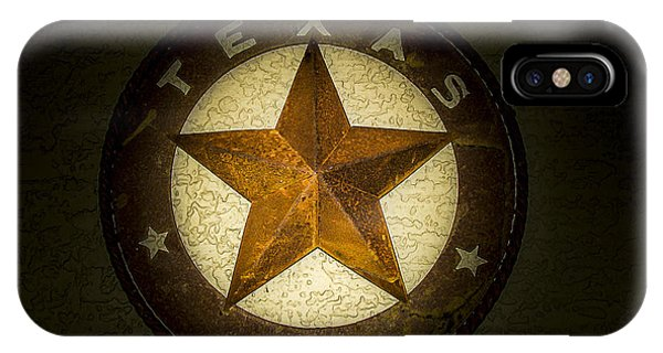 Texas iPhone Case - Texas Star by Fred Adsit