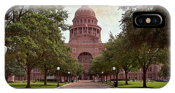 Texas State Capitol IIi IPhone Case